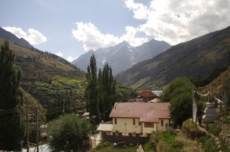 Unsere Unterkunft in Keylong