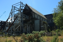 Die Kathedrale von Christchurch, oder was davon übrig ist