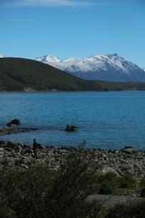 Am Lake Tekapo