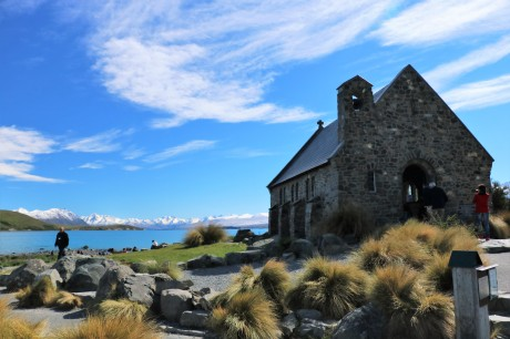 Kleine Kapelle am Lake Tekapo