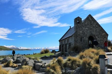 Kleine Kapelle am Lake Tekapo