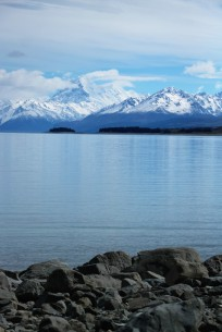 Mount Cook vom Lake Pukaki aus