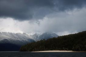 Auf dem Lake Te Anao unterwegs zur Glühwürmchenhöhle