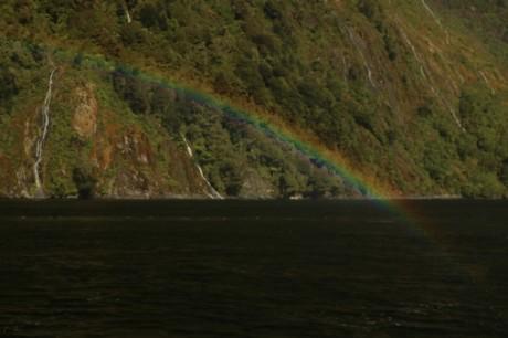 Und wieder ein Regenbogen